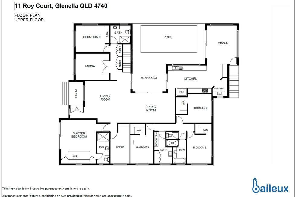 Floorplan of Homely house listing, 11 Roy Court, Glenella QLD 4740