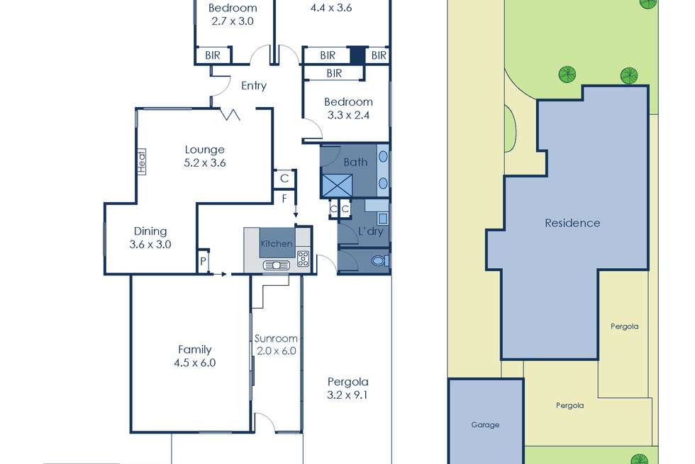 Floorplan of Homely house listing, 2 Roselea Street, Box Hill North VIC 3129