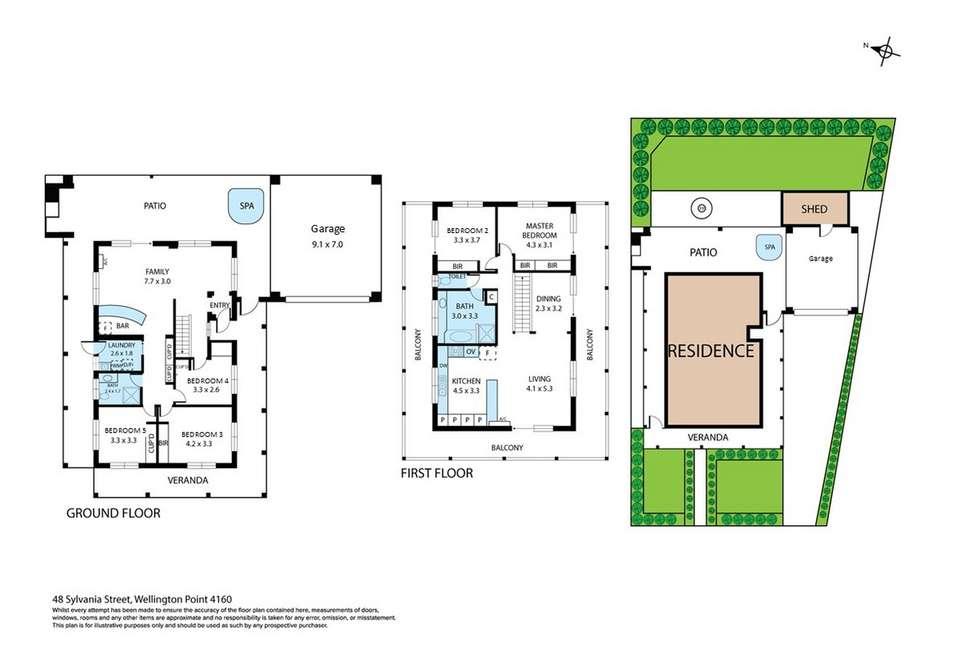 Floorplan of Homely house listing, 48 Sylvania Street, Wellington Point QLD 4160