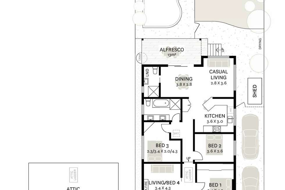 Floorplan of Homely house listing, 33 Cardigan Street, Stanmore NSW 2048