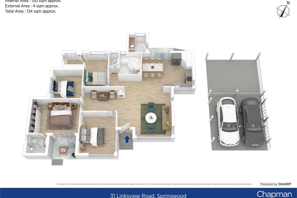 Floorplan of Homely house listing, 31 Linksview Road, Springwood NSW 2777