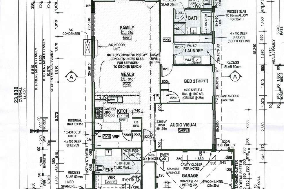 Floorplan of Homely house listing, 4 Newmarket Road, Meadow Springs WA 6210