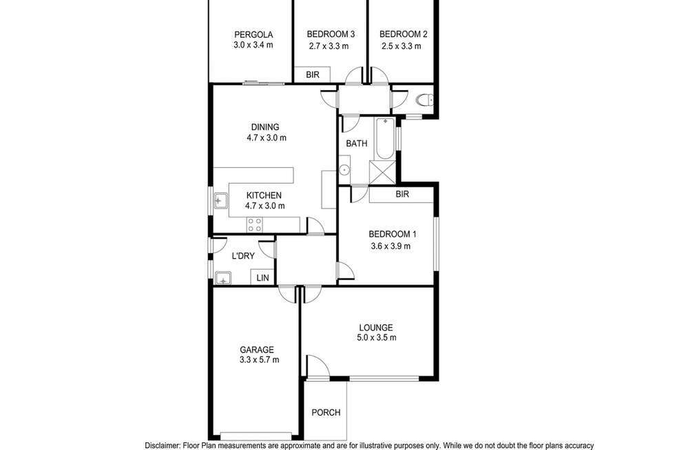 Floorplan of Homely house listing, 2 Winfield Court, Mount Gambier SA 5290