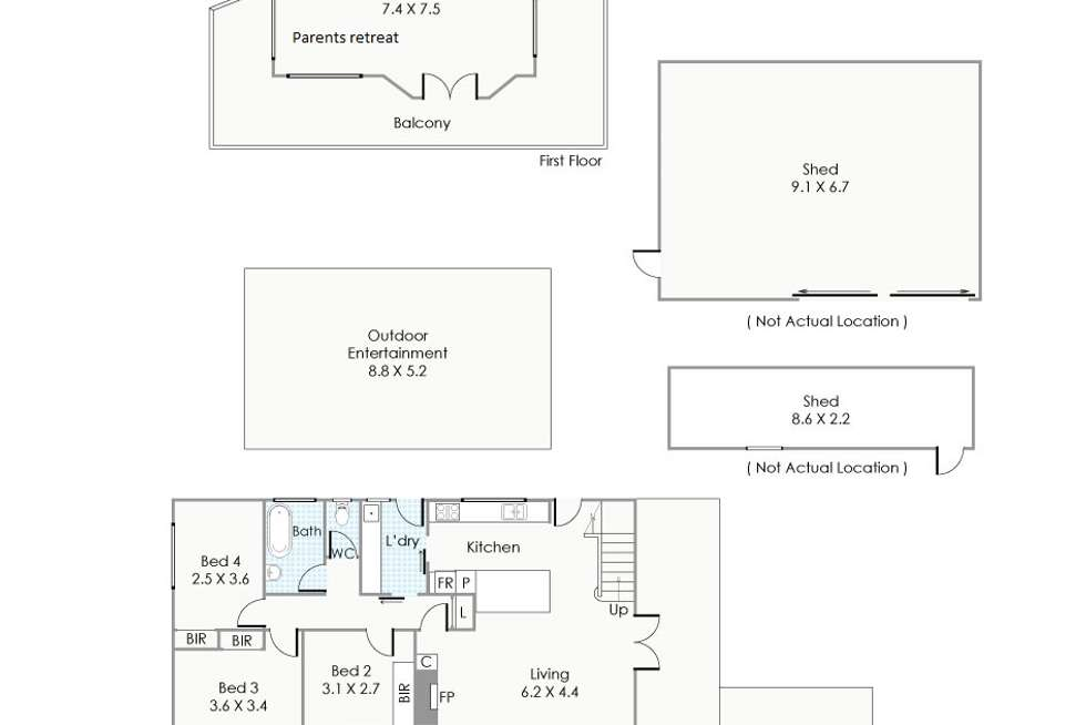 Floorplan of Homely house listing, 3 Hanley Street, Stoneville WA 6081