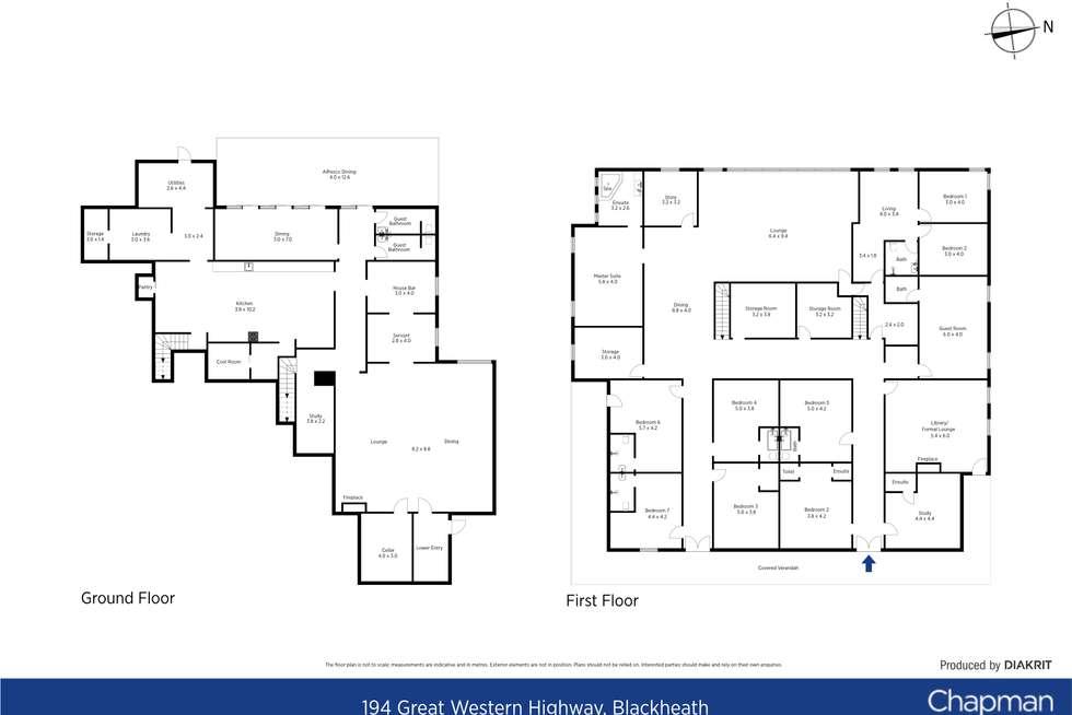 Floorplan of Homely house listing, 194 Great Western Highway, Blackheath NSW 2785