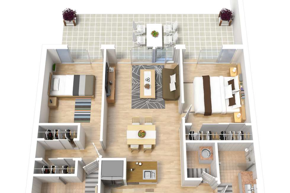 Floorplan of Homely unit listing, 704/1 Howard Street, Warners Bay NSW 2282