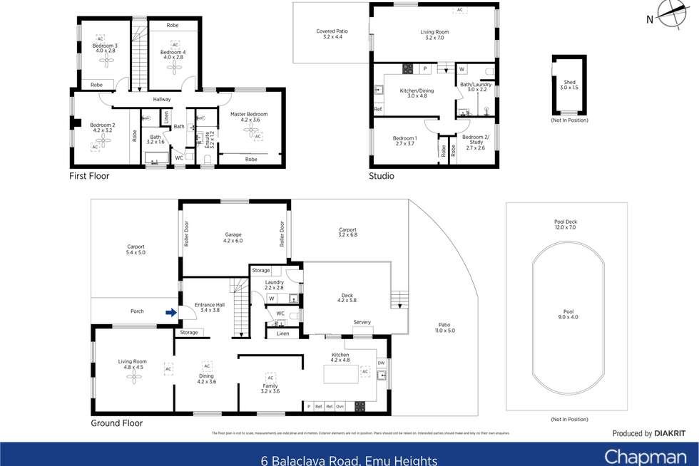 Floorplan of Homely house listing, 6 Balaclava Road, Emu Heights NSW 2750