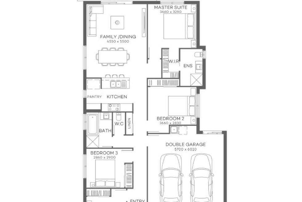 Floorplan of Homely house listing, CALYPSO Style, South Maclean QLD 4280