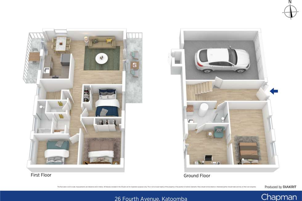 Floorplan of Homely house listing, 26 Fourth Avenue, Katoomba NSW 2780