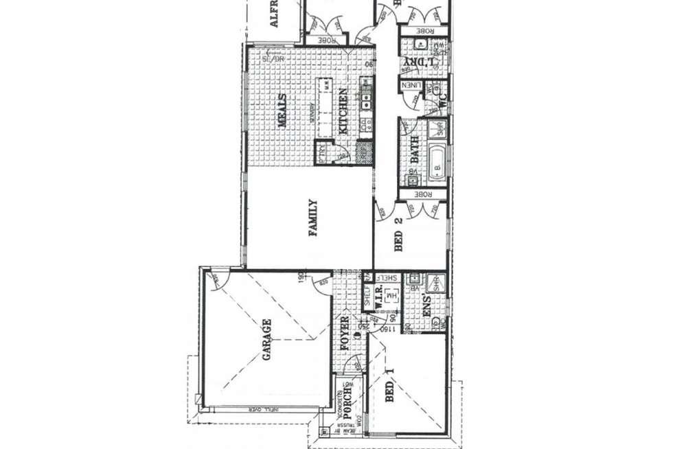 Floorplan of Homely house listing, 99 Hobson Street, Stratford VIC 3862