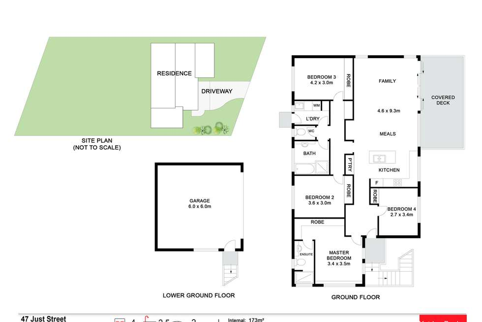 Floorplan of Homely house listing, 47 Just Street, Goonellabah NSW 2480