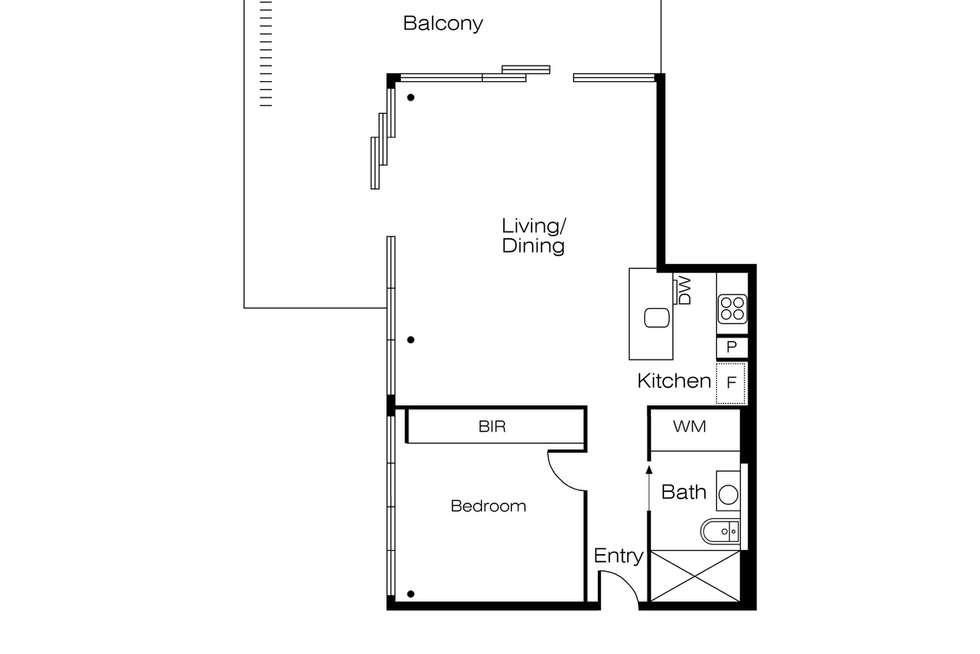 Floorplan of Homely apartment listing, 601/793 Burke Road, Hawthorn East VIC 3123