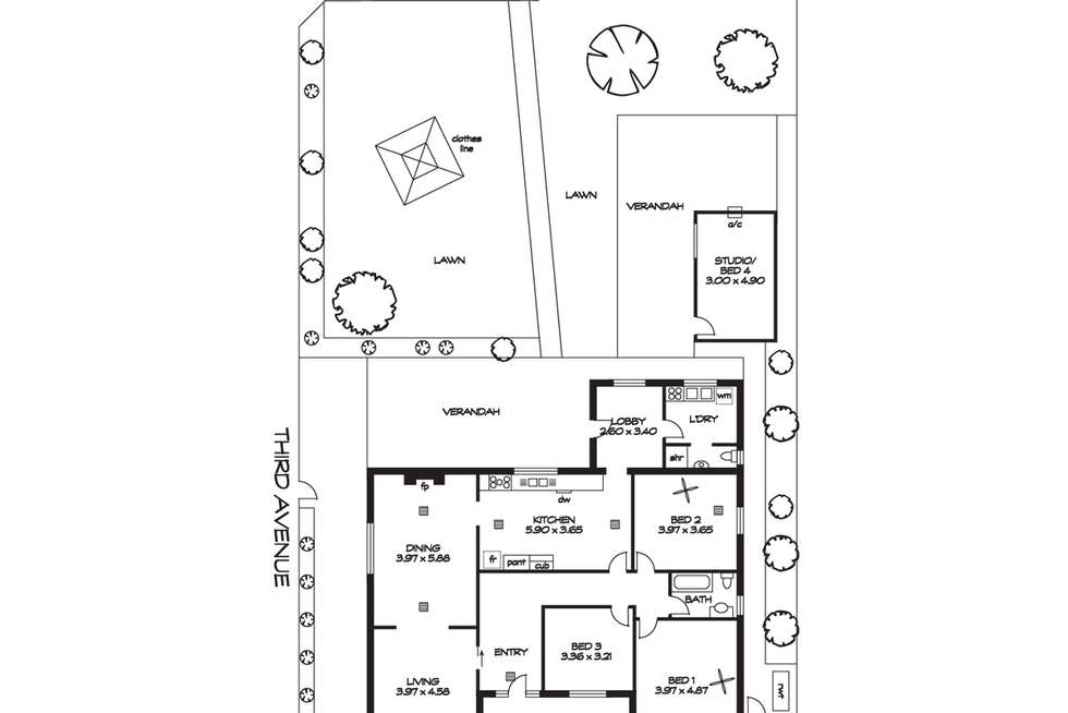 Floorplan of Homely house listing, 30 Lambert Road, Royston Park SA 5070