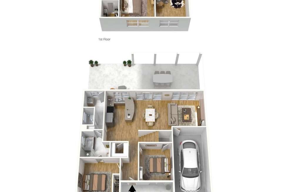 Floorplan of Homely unit listing, 4/155 Second Avenue, Royston Park SA 5070