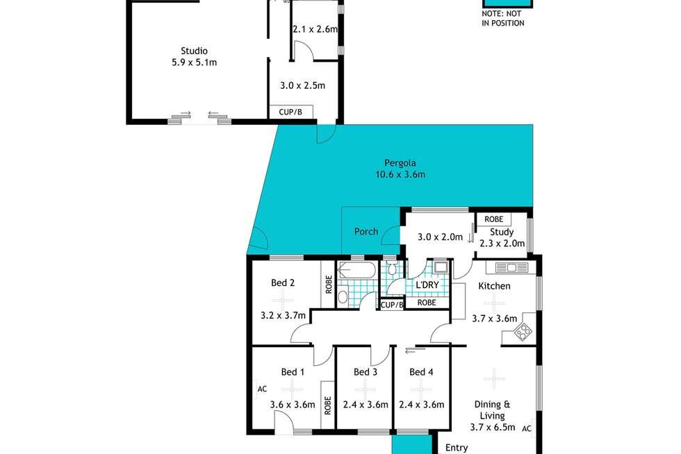 Floorplan of Homely house listing, 10 Gawler Street, Seaview Downs SA 5049