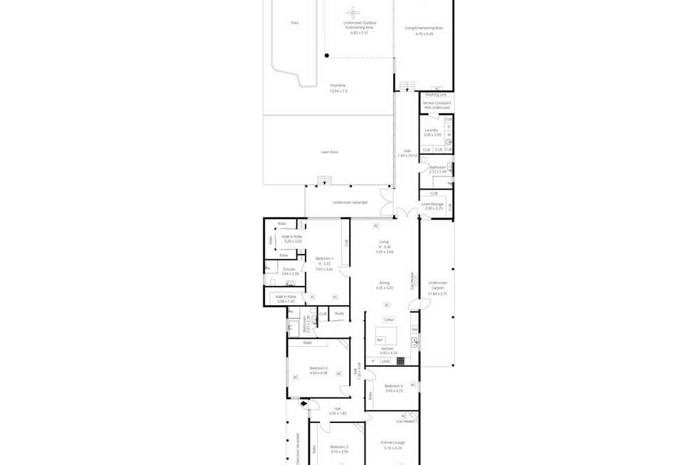 Floorplan of Homely house listing, 178 First Avenue, Royston Park SA 5070