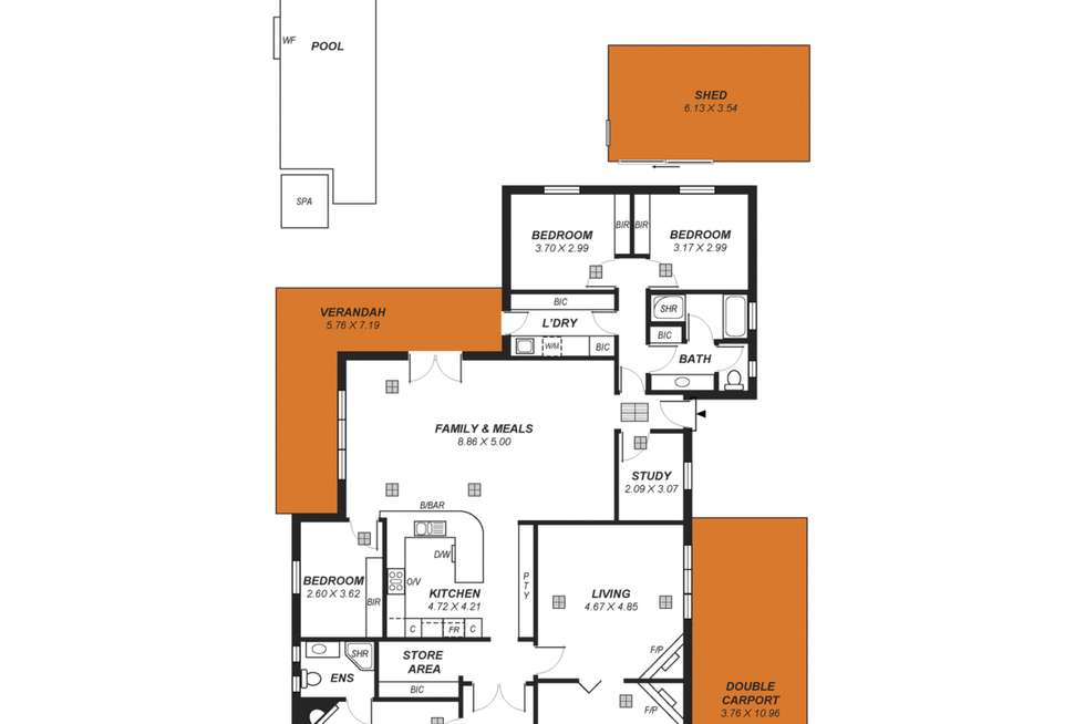 Floorplan of Homely house listing, 137 First Avenue, Royston Park SA 5070