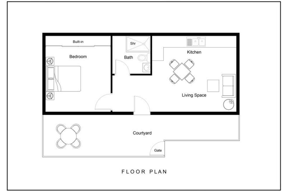 Floorplan of Homely flat listing, 75c Lantana Avenue, Collaroy Plateau NSW 2097