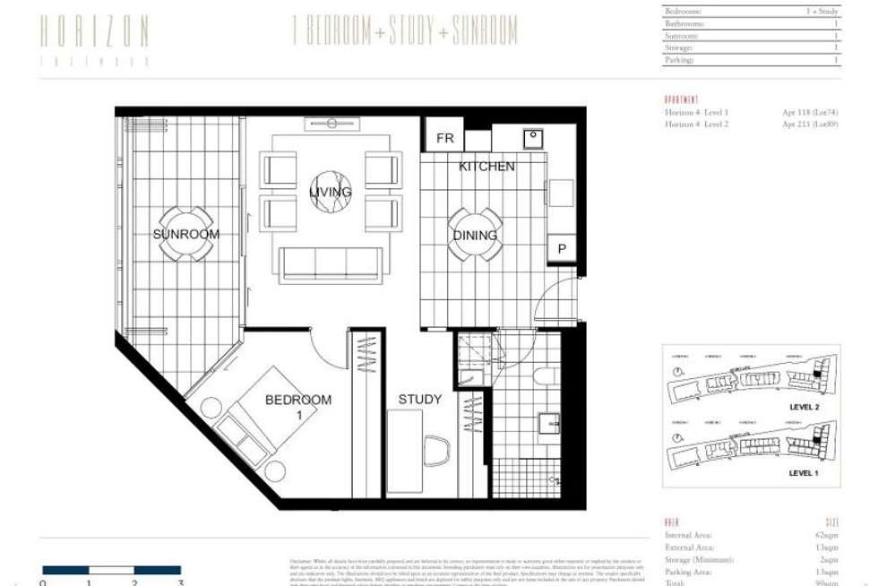 Floorplan of Homely apartment listing, H4, 118/86 Mobbs Lane, Eastwood NSW 2122
