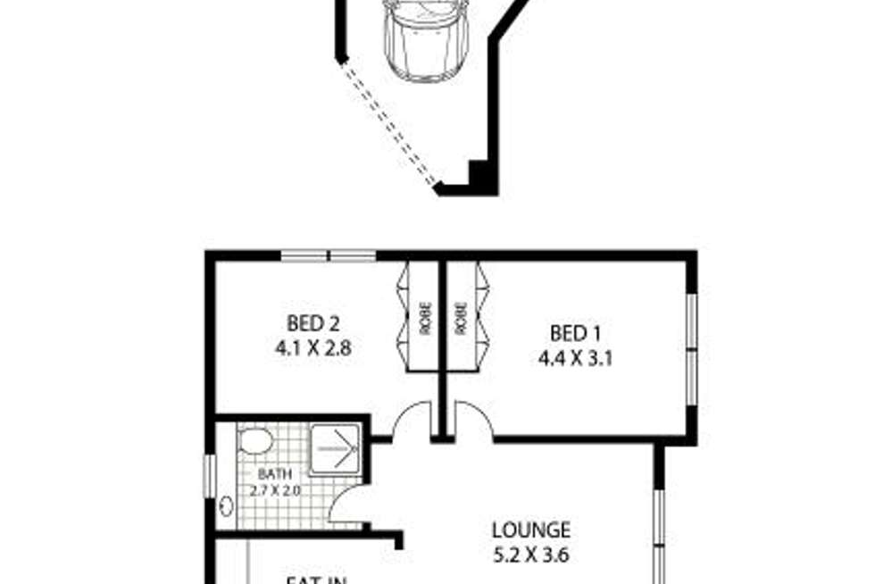 Floorplan of Homely apartment listing, 6/54 Coogee Street, Randwick NSW 2031
