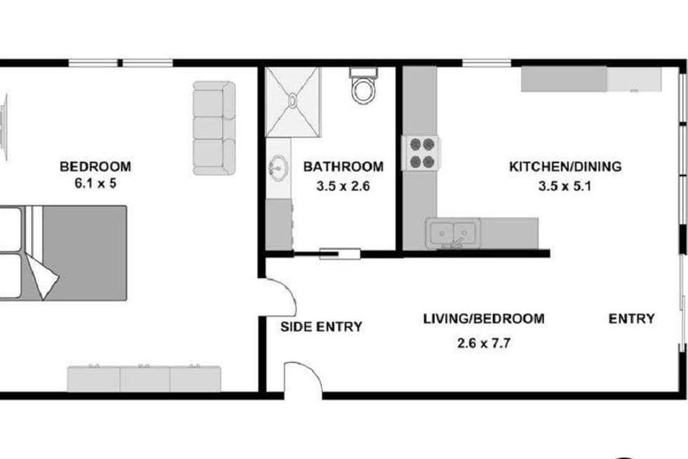 Floorplan of Homely unit listing, 2/9 Yarrabee Court, Mount Waverley VIC 3149
