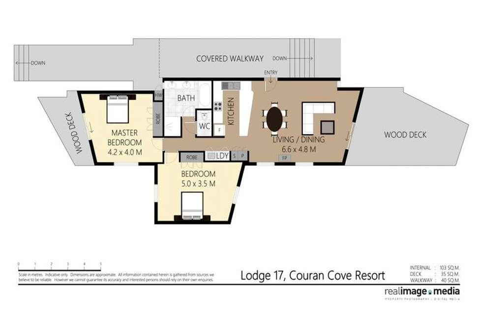 Floorplan of Homely house listing, 4617 Couran Cove Island Resort, South Stradbroke QLD 4216