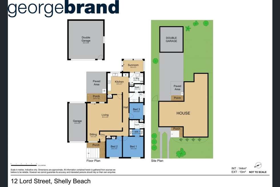 Floorplan of Homely house listing, 12 Lord Street, Shelly Beach NSW 2261