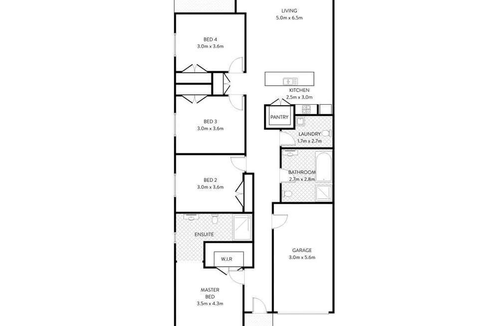 Floorplan of Homely house listing, 3 Sandridge Street, Thornton NSW 2322