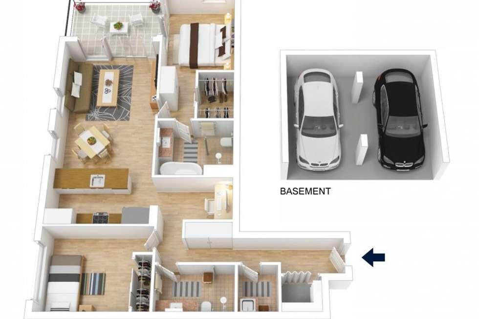 Floorplan of Homely unit listing, 504/8 Kendall Street, Gosford NSW 2250