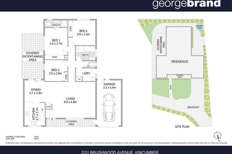 Floorplan of Homely house listing, 2/31 Brushwood Avenue, Kincumber NSW 2251