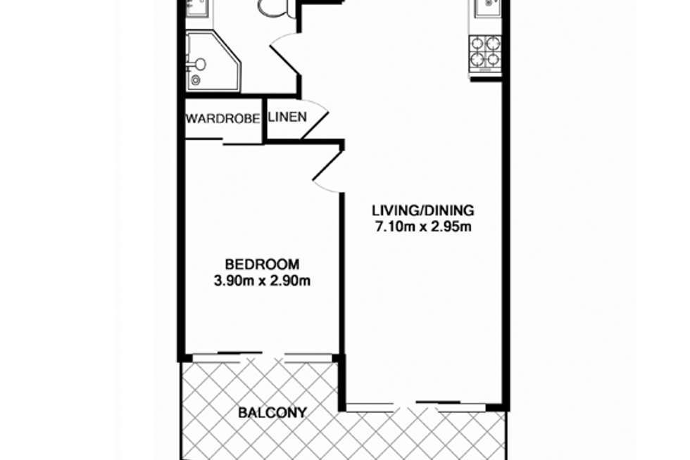Floorplan of Homely apartment listing, ID:3911776/14 Brown Street, Chatswood NSW 2067