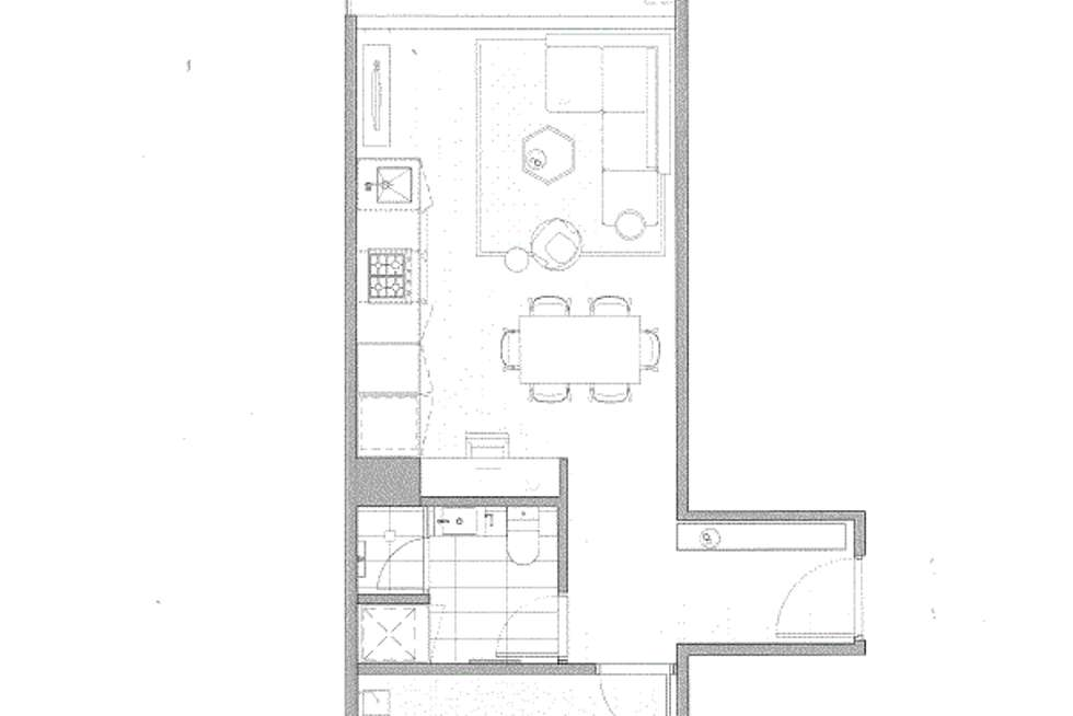 Floorplan of Homely apartment listing, 102/140 Dudley Street, West Melbourne VIC 3003