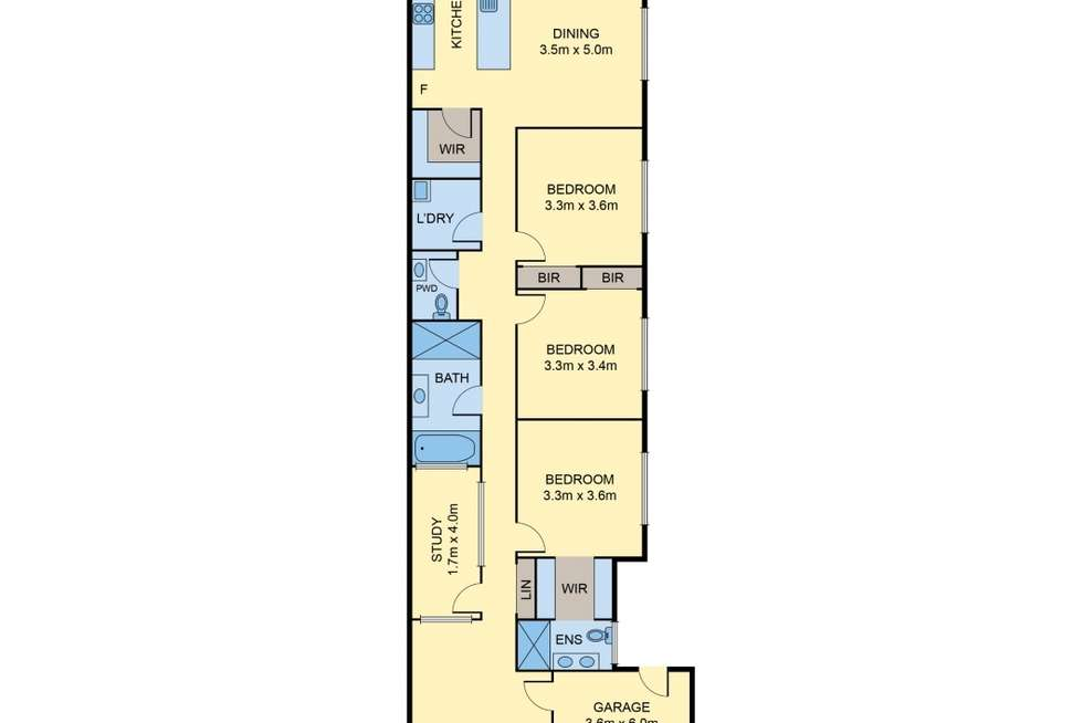 Floorplan of Homely house listing, 51 Riverside Avenue, Avondale Heights VIC 3034