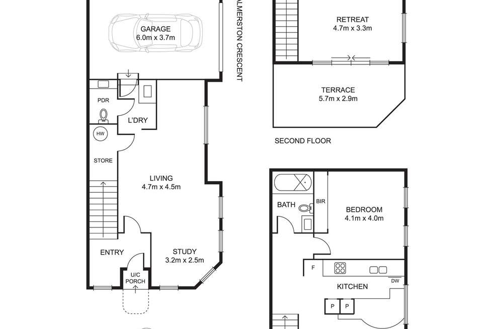 Floorplan of Homely house listing, 333 Moray Street, South Melbourne VIC 3205
