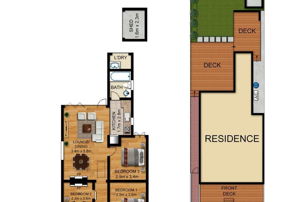 Floorplan of Homely house listing, 50 Allen Street, Leichhardt NSW 2040