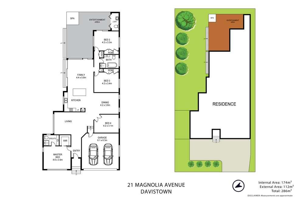 Floorplan of Homely house listing, 21 Magnolia Avenue, Davistown NSW 2251