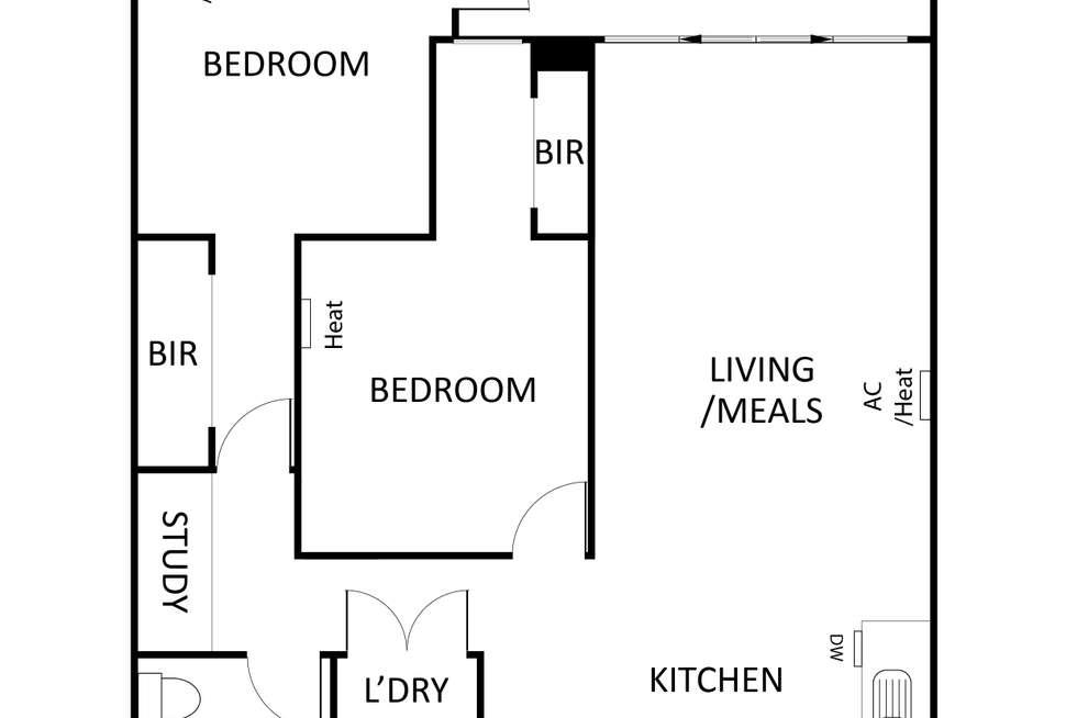Floorplan of Homely apartment listing, 17/2-10 Monckton Place, Caroline Springs VIC 3023