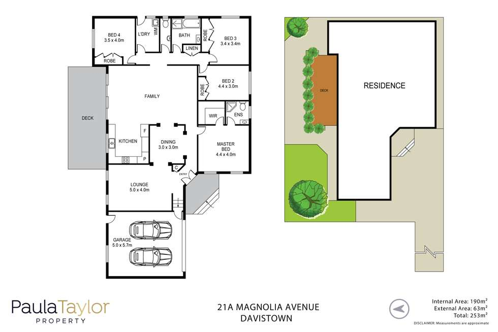 Floorplan of Homely house listing, 21A Magnolia Avenue, Davistown NSW 2251