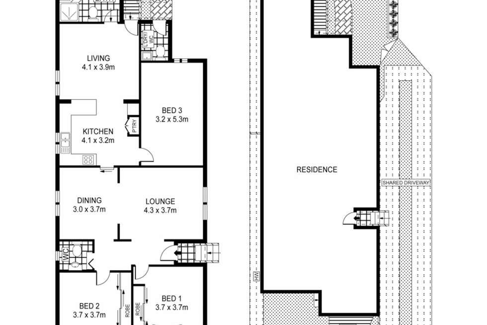 Floorplan of Homely house listing, 49 Broadford Street, Bexley NSW 2207