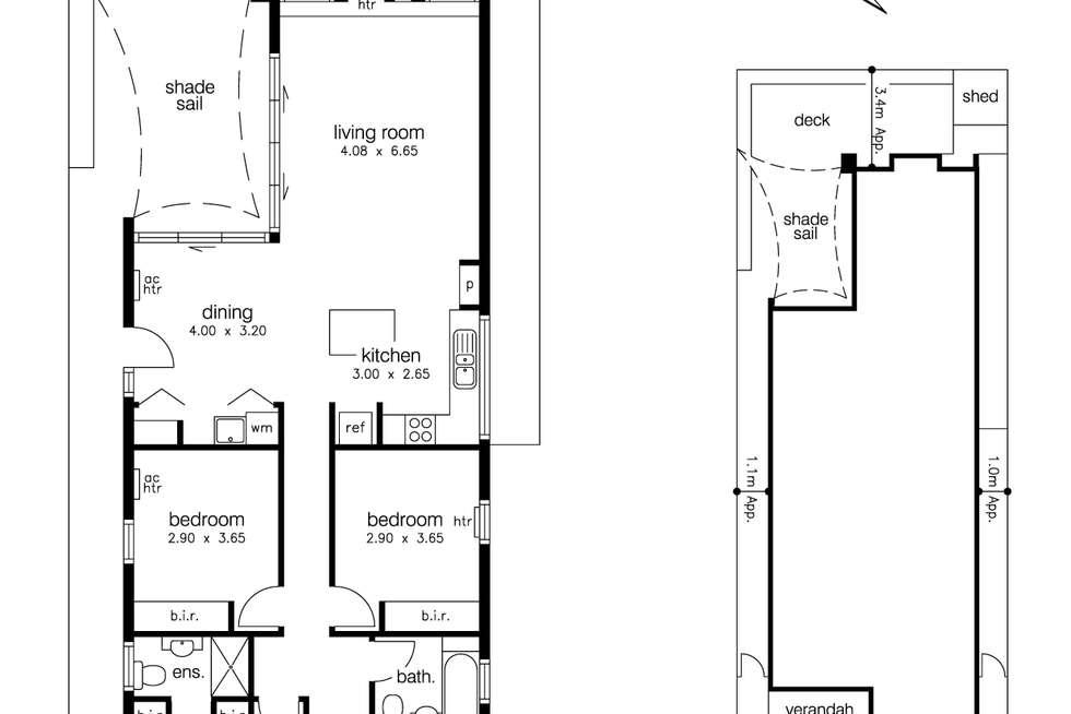 Floorplan of Homely house listing, 9 Severn Street, Yarraville VIC 3013
