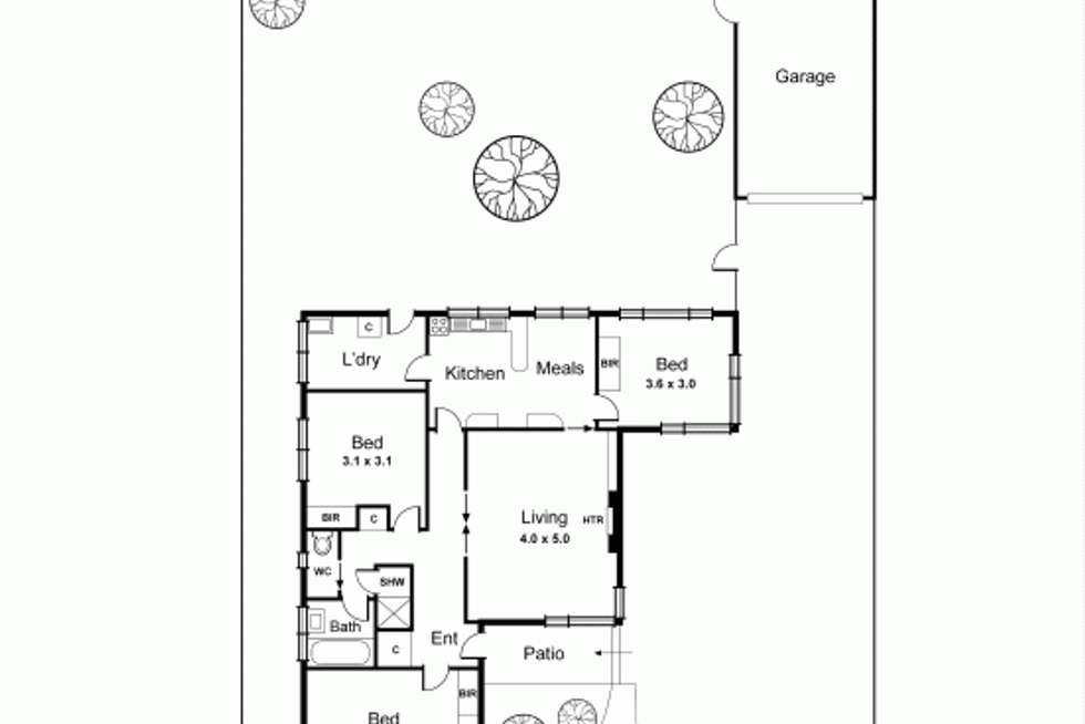 Floorplan of Homely house listing, 37A Tucker Road, Bentleigh VIC 3204