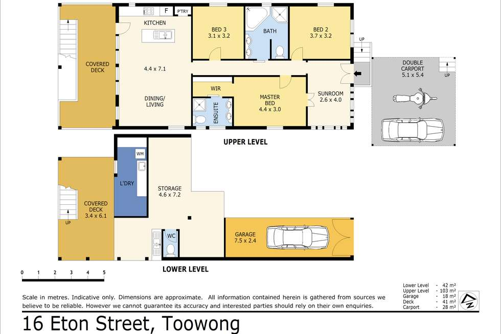 Floorplan of Homely house listing, 16 Eton Street, Toowong QLD 4066