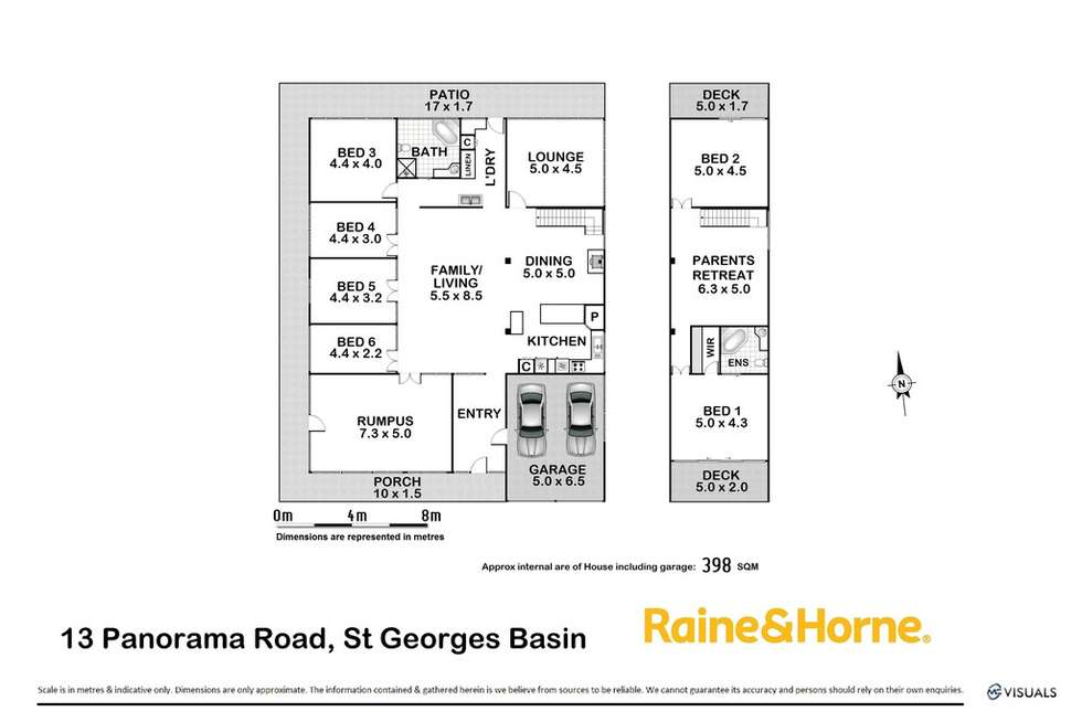 Floorplan of Homely house listing, 13 Panorama Road, St Georges Basin NSW 2540