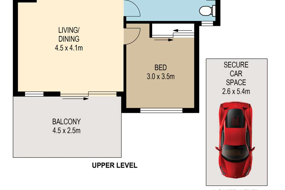 Floorplan of Homely apartment listing, 24/300 Sir Fred Schonell Drive, St Lucia QLD 4067