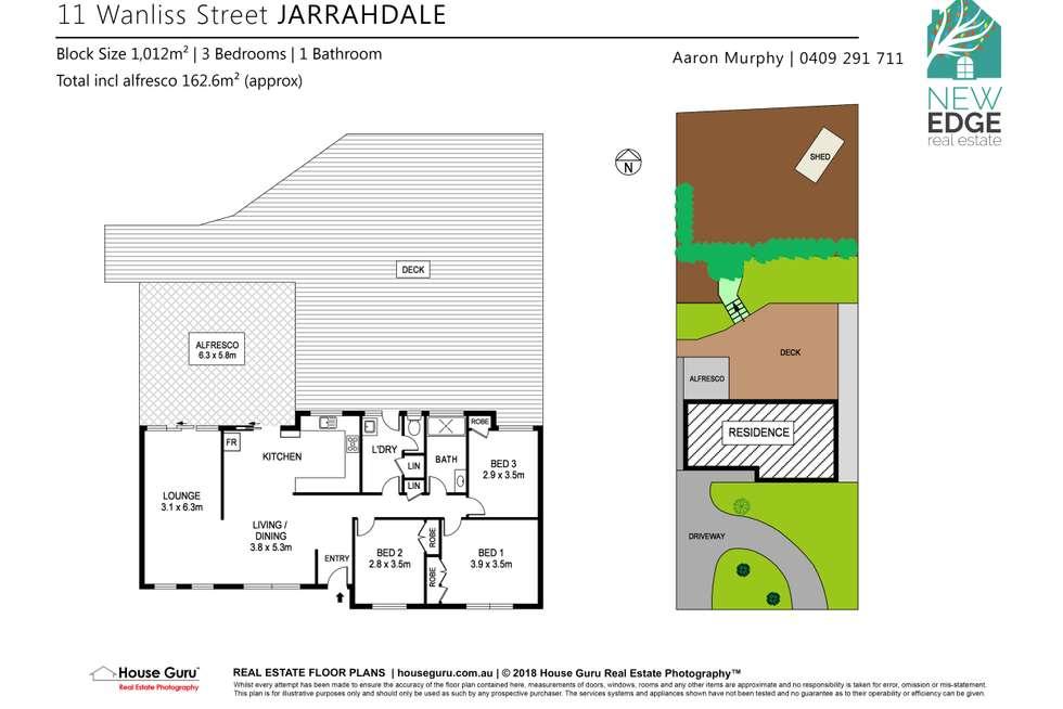 Floorplan of Homely house listing, 11 Wanliss Street, Jarrahdale WA 6124