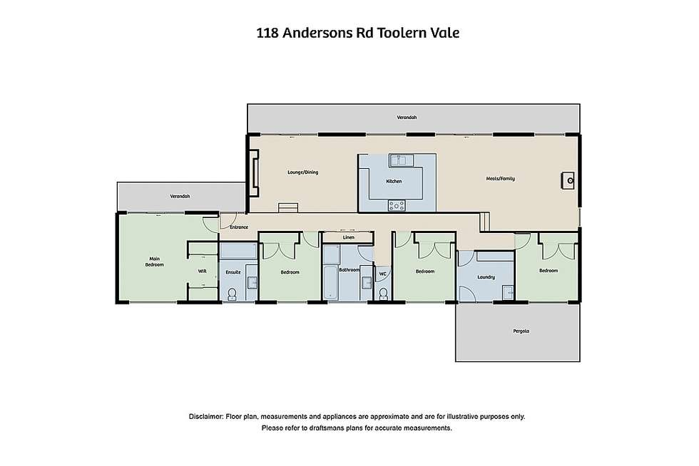 Floorplan of Homely house listing, 118 Andersons Road, Toolern Vale VIC 3337