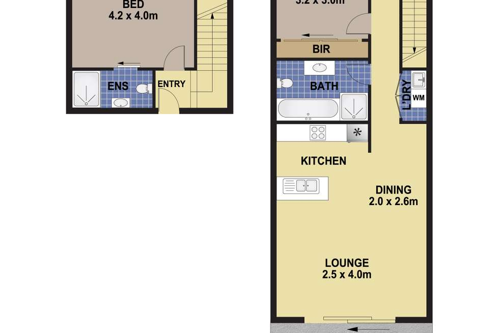 Floorplan of Homely apartment listing, 50/51 Bonnyrigg Avenue, Bonnyrigg NSW 2177