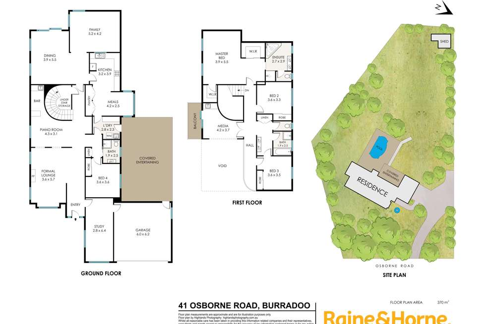 Floorplan of Homely house listing, 41 Osborne Road, Burradoo NSW 2576