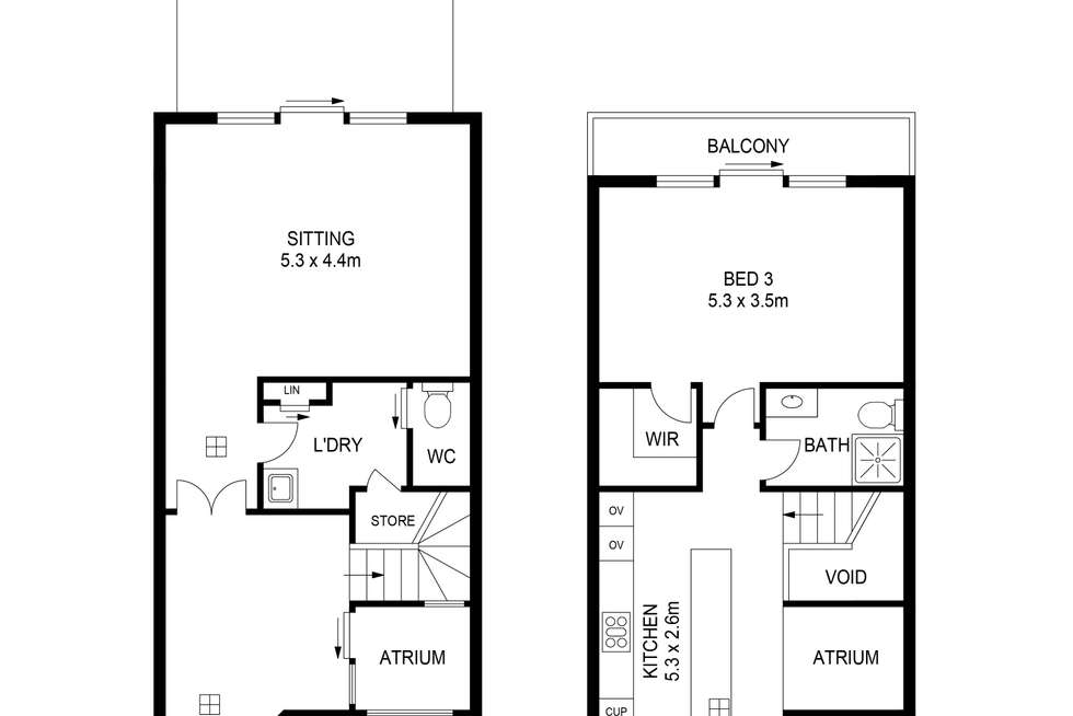 Floorplan of Homely house listing, 4a Esplanade, Victor Harbor SA 5211