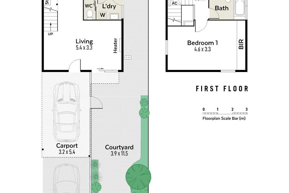 Floorplan of Homely house listing, 1/28 Violet Grove, Shenton Park WA 6008